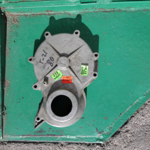 Крышка двигателя передняя Волга Газ 21 Уаз - AUTOKARMAN