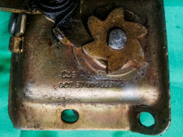 Механизм замка багажника Волга Газ 21 - AUTOKARMAN